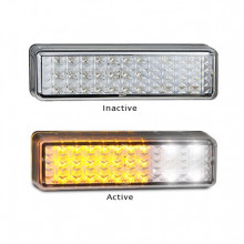 LED Autolamps LED Bullbar Park Indicator 175mm X 50mm Pair