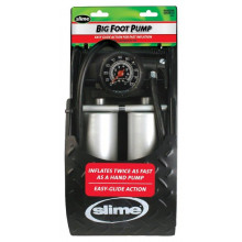 Slime Heavy Duty Foot Pump - Dual