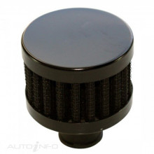 BREATHER FILTER 12MM BLACK