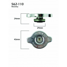 CPC Auto Components Radiator Cap SP05497