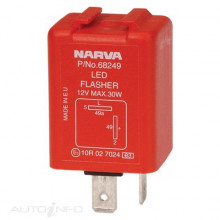 12 VOLT 2 PIN ELECTRONIC L.E.D FLASHER