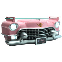 3D WALL SHELF ELVIS PINK CADILLAC FRONT