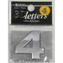 ALPENA 3D NUMBERS NUMBER 4