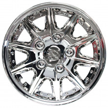 WC101 WHEEL COVERS 15IN CHR ROME