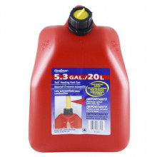 Scepter 20 litre squat fuel container - Red