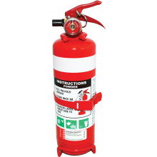 FIRE EXTINGUISHER 1KG METAL BRACKET