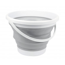 10LT FOLDING SILICONE BUCKET
