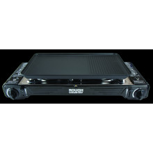 RC2240SP TWIN BURNER BUTANE STOVE WITH PLATE