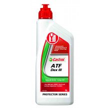 Castrol ATF Dex III Semi Synthetic Automatic Transmission Fluid - 1L