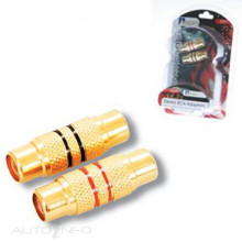 AP607 RCA JOINERS DOUBLE FEMALE GOLD