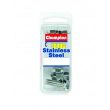 Champion Parts Self Tapping Screw Countersunk 10G x 1in SP44115