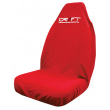 DRIFT SEAT COVER THROWOVER RED MULTIFIT