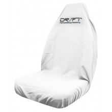 DRIFT SEAT COVER THROWOVER WHITE MULTIFIT