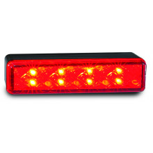 LEDAUTOLAMPS LED Rear Stop/tail lamp, with 8 square LEDs.