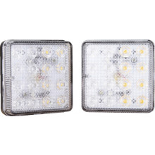 LED TRAILER LIGHTS 80X80MM STOP/TAIL/IND PK2