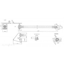 Hydraulic Hose - Front