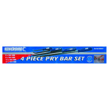 KINCROME PRY BAR SET 4PC