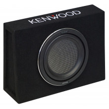 KENWOOD 1000FBOX 10IN SUB IN SHALLOW ENCL 1000W MAX