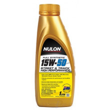NULON FULL SYNTHETIC 15W-50 STREET AND TRACK HIGH PERFORMANCE ENGINE OIL 1L