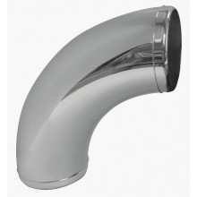 AIR INTAKE 3IN 90 DEGREE BEND CHROME