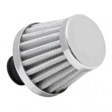 BREATHER FILTER 25MM CHROME