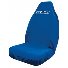 SEAT COVER THROWOVER BLUE MULTIFIT