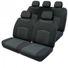 SEAT COVER ALEXIS 30/50/06 AIRBAG BLACK