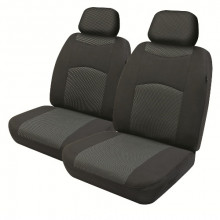 SEAT COVER ALEXIS 30/50 AIRBAG BLACK