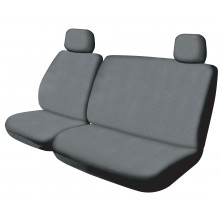 SEAT COVER CANVAS 301 AIRBAG GREY