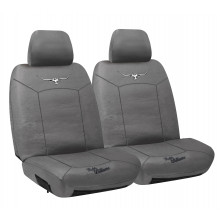 RM WILLIAMS CANVAS SEAT COVERS GREY 30