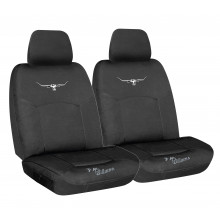 RM WILLIAMS CANVAS SEAT COVERS BLACK 30