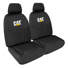 CAT CANVAS ICON SEAT COVERS BLACK 30
