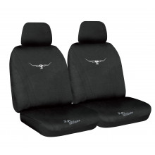 RM WILLIAMS NEOPRENE SEAT COVERS BLACK 30 EXPANDER FIT