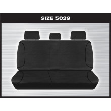 TRADIES 1 ROW REAR BLACK HILUX 07/2015 TO CURRENT