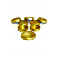 WELCH PLUG 1 1/4IN BRASS CUP CPC1014