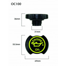 CPC Auto Components Oil Cap SP75395