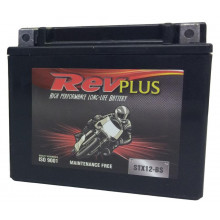 REVPLUS MOTORCYCLE BATTERY 12V STX12-BS