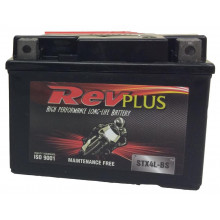 REVPLUS MOTORCYCLE BATTERY 12V STX4L-BS