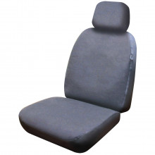 Streetwize Seat Cover Canvas 30/50 Airbag Grey