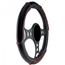 Streetwize Rave Steering Wheel Cover Red/Black