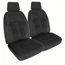 Streetwize Omega 30/50 Black Velour Seat Cover