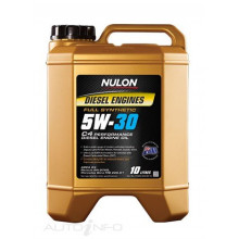 10L NULON FULL SYNTHETIC 5W-30 C4 PERFORMANCE DIESEL ENGINE OIL
