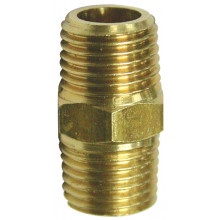 AIR HOSE FITTING 1/4IN MALE TO MALE PB-05029