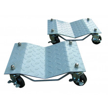 Trade Quip Vehicle Dolly Checker Plate V Type