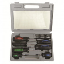 SUPATOOL SCREWDRIVER SET 19PC