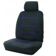 Wet N Wild 30/50 Black/Blue Seat Cover