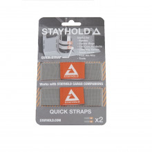 Stayhold Grey Quickstraps - Double Pack