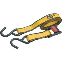 RATCHET TIE DOWN J HOOK 32MM X 4.8M 2PCE 680KG