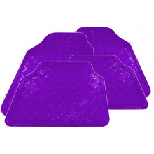 Streetwize Floor Mats Kentucky Set 4 Purple Chrome