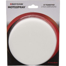 Motospray Foam Pad White